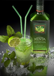 Абсент - крепчайший алкогольный напиток с анисовым привкусом