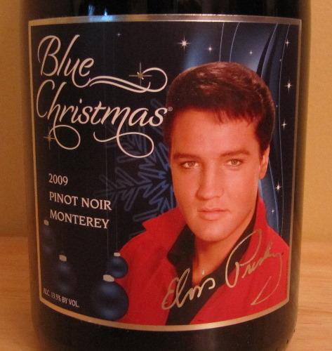 вино, посвященное Элвису Пресли